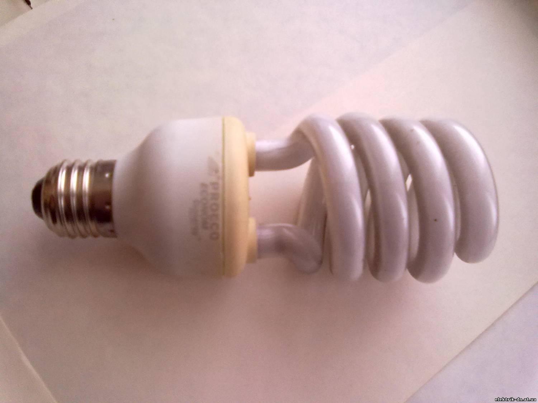 Как отремонтировать энергосберегающую лампу